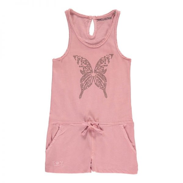 Rhinestone butterfly playsuit