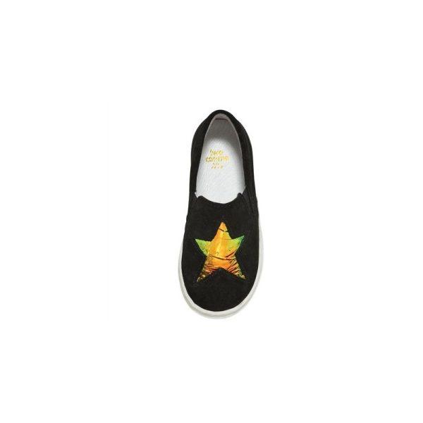 Χειροποίητα Παιδικά Slip-on Παπούτσια 2 Paul Nero