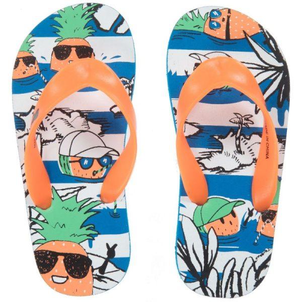 Boys orange flip-flops