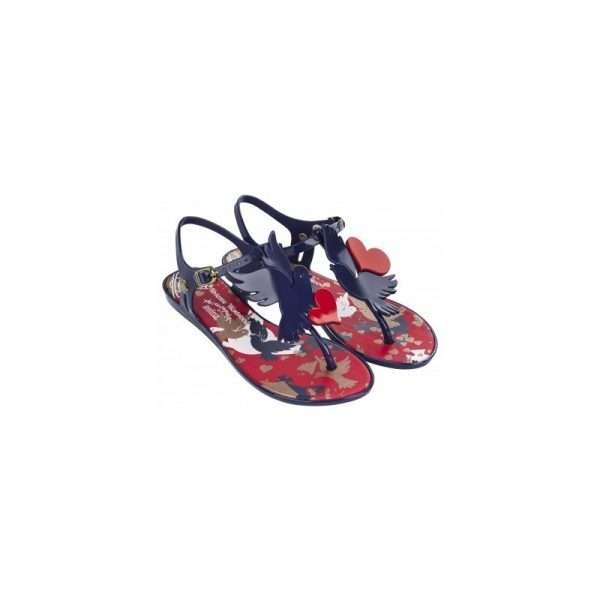Solar Dove Navy Gloss Vivienne Westwood Sandals