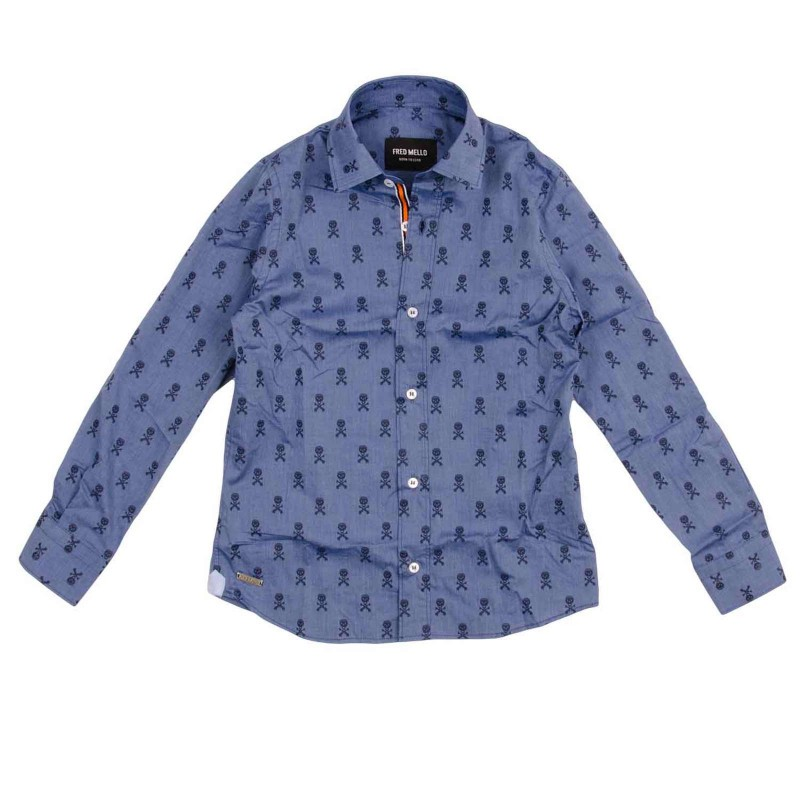 Embroidered Cotton Oxford Shirt
