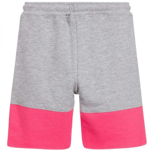 Girls grey and pink bermuda