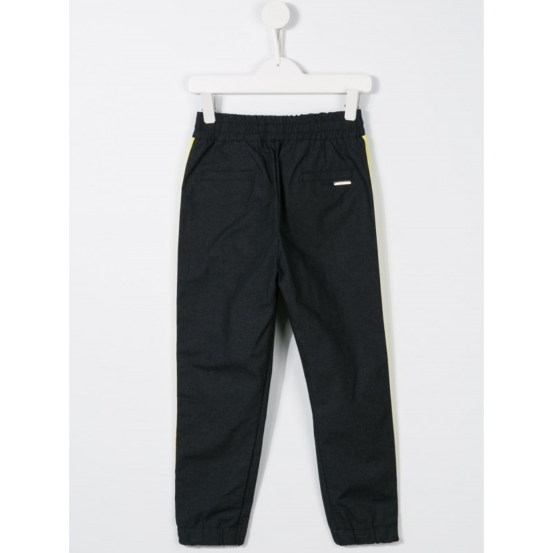 Boys side stripe relaxed trousers