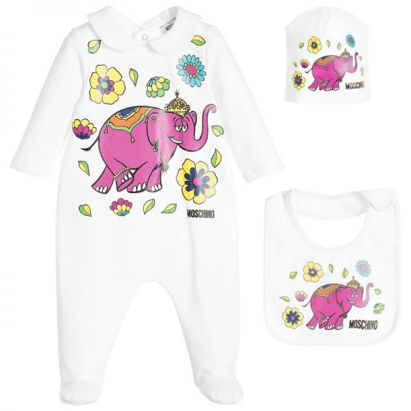 Girls Babygrow Gift Set
