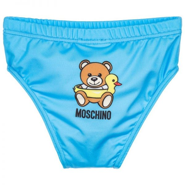 Baby Boys Blue Swimming Trunks