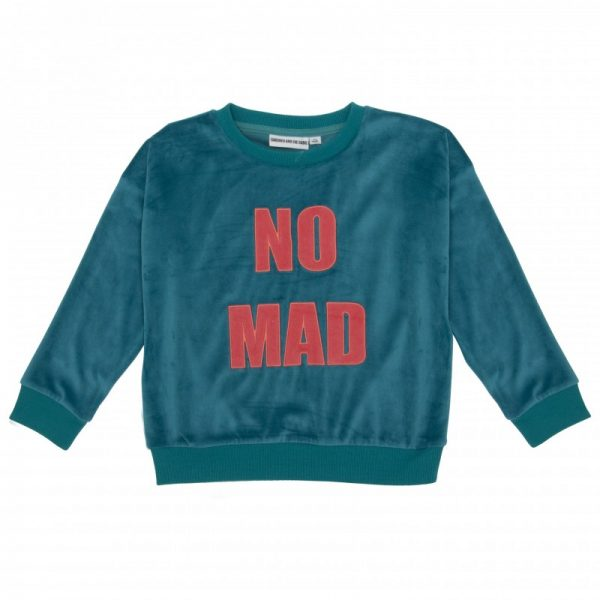 The Classic Sweat Shirt Velour Nomad Applique
