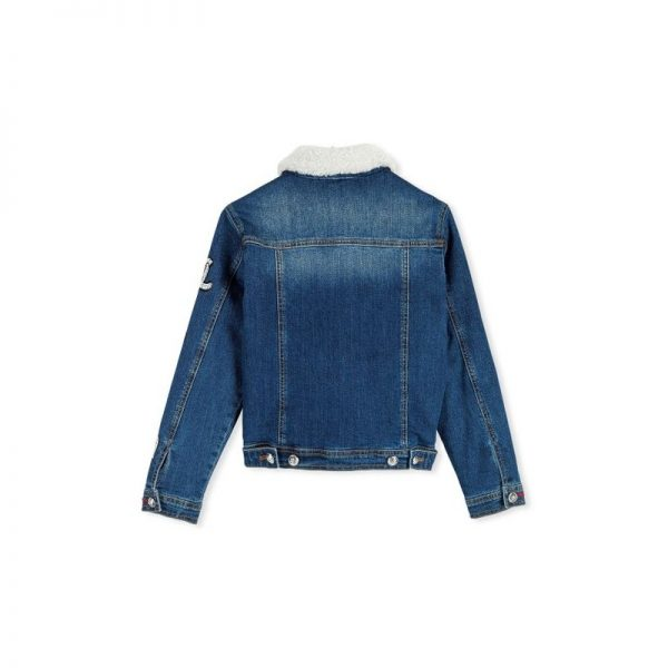 DENIM JACKET ''OMG PLEIN YOU''