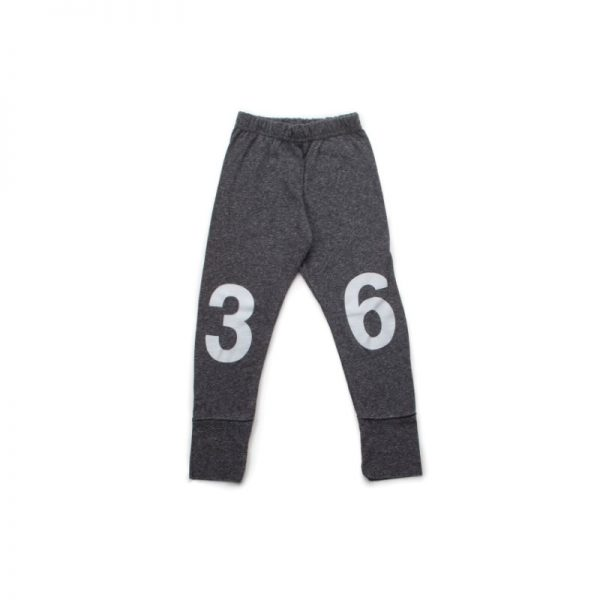 numbered leggings