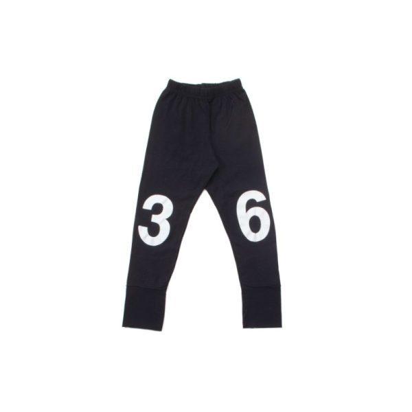 numbered leggings