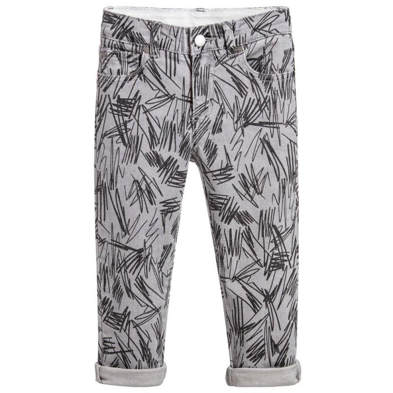 Lohan Gray Scribble Jeans