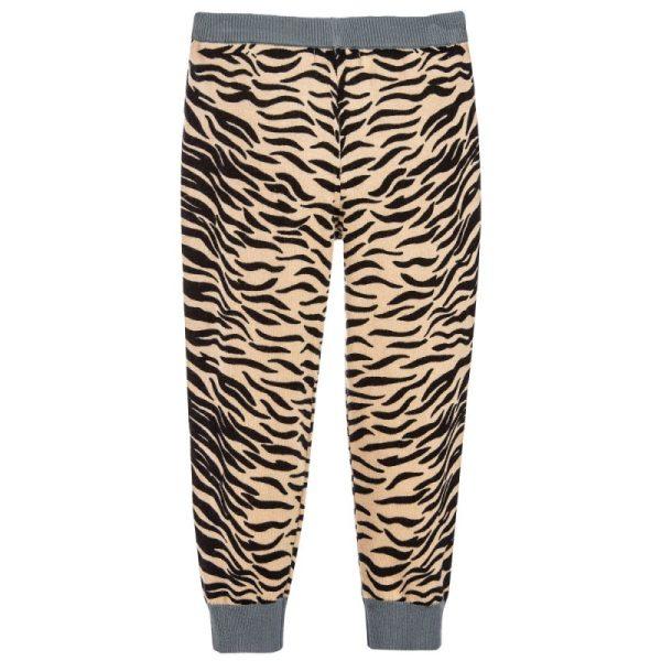 Lillian Tiger Print Knit Pants