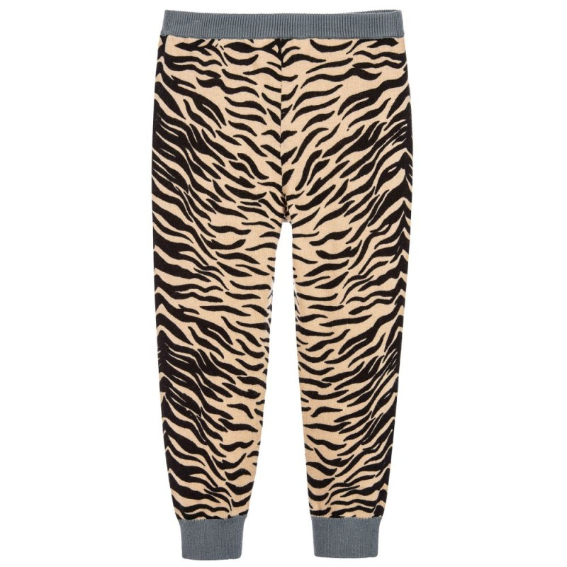 Lillian Tiger Print Knit Pants
