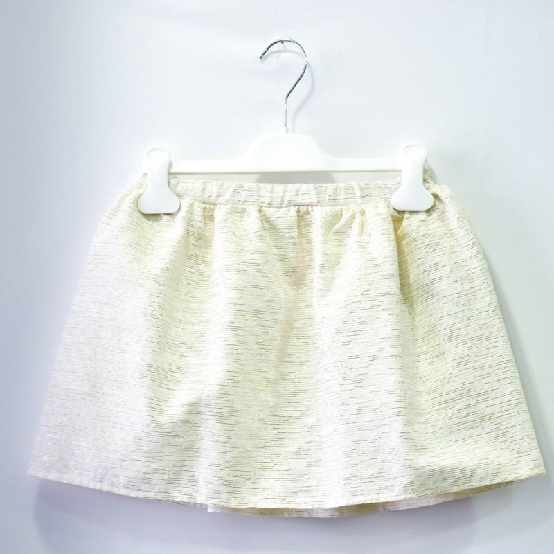 Παιδική Φούστα Με Χρυσές Λεπτομέρειες
