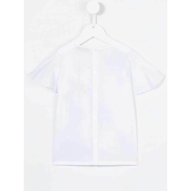 Μπλούζα κοντομάνικη με σχέδιο για κορίτσι