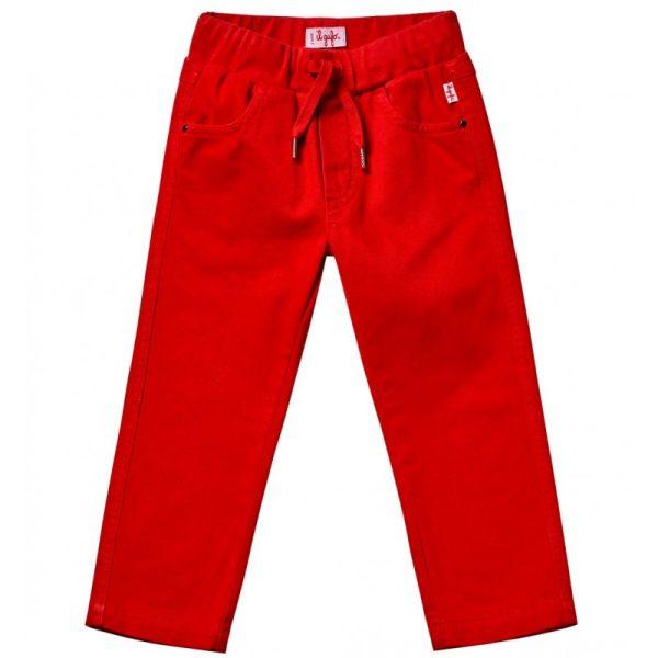 Βρεφικό Κόκκινο Παντελόνι Με Κορδόνι