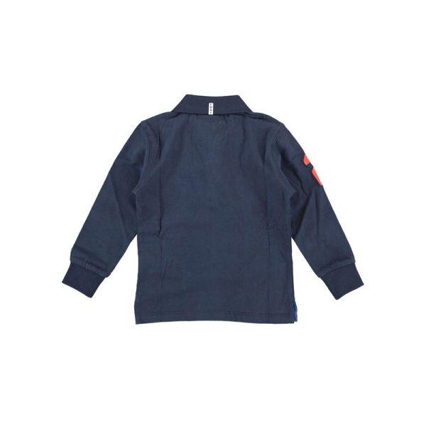 Μπλούζα μακρυμάνικη σε μπλε για αγόρι