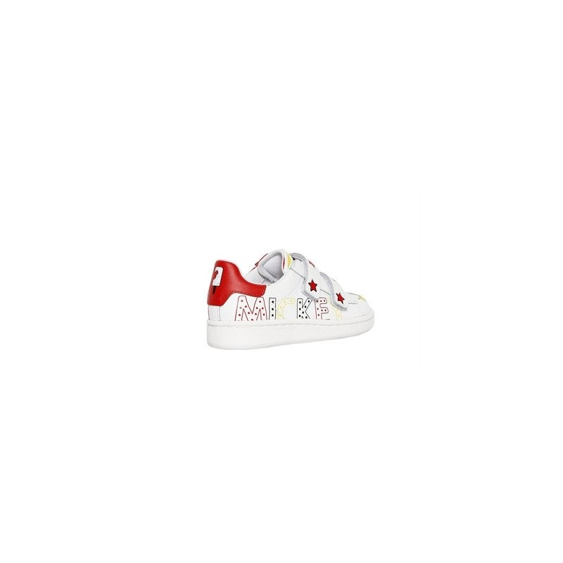Αθλητικά Disney δερμάτινα παπούτσια σε λευκό