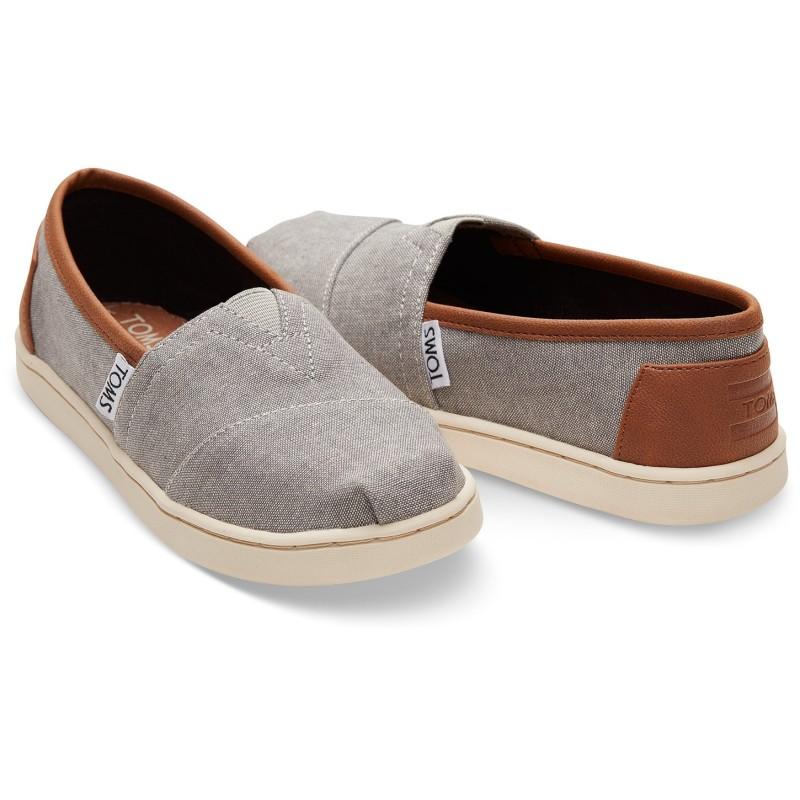 Παιδικό Παπούτσι Toms Frost Grey Chambray