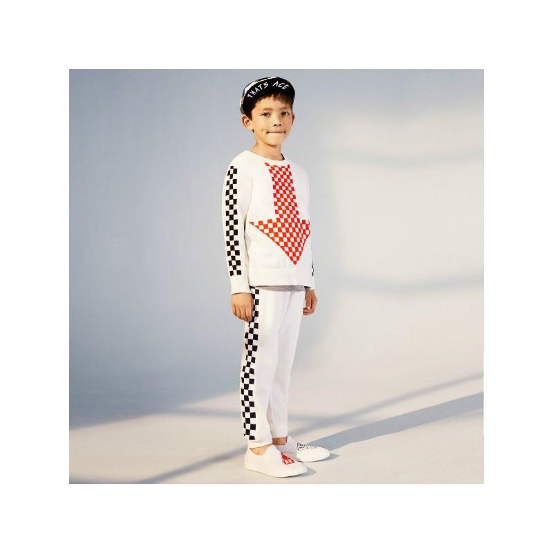Παιδικό Παντελόνι Φόρμας Καρό