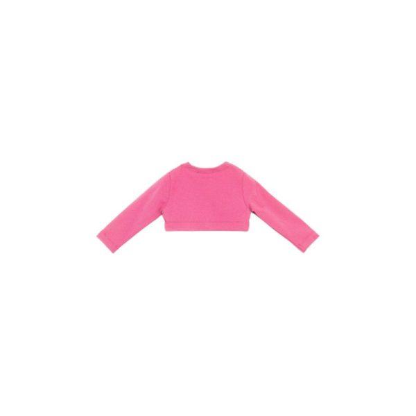 Ζακετάκι σε ροζ για κορίτσι