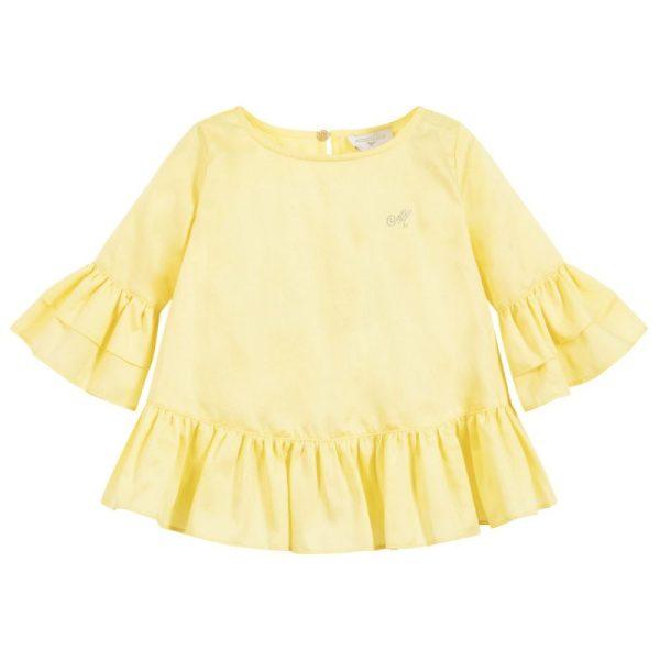 Μπλούζα σε κίτρινο για κορίτσι
