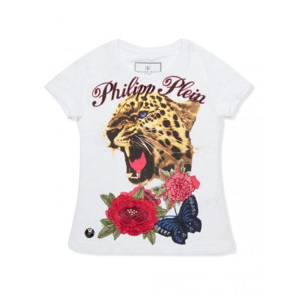 """Μπλούζα T-Shirt """"Crystel But Tiger"""" για κορίτσι"""
