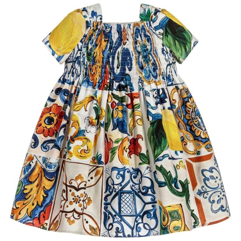 Βρεφικό Φόρεμα ''Majolica''