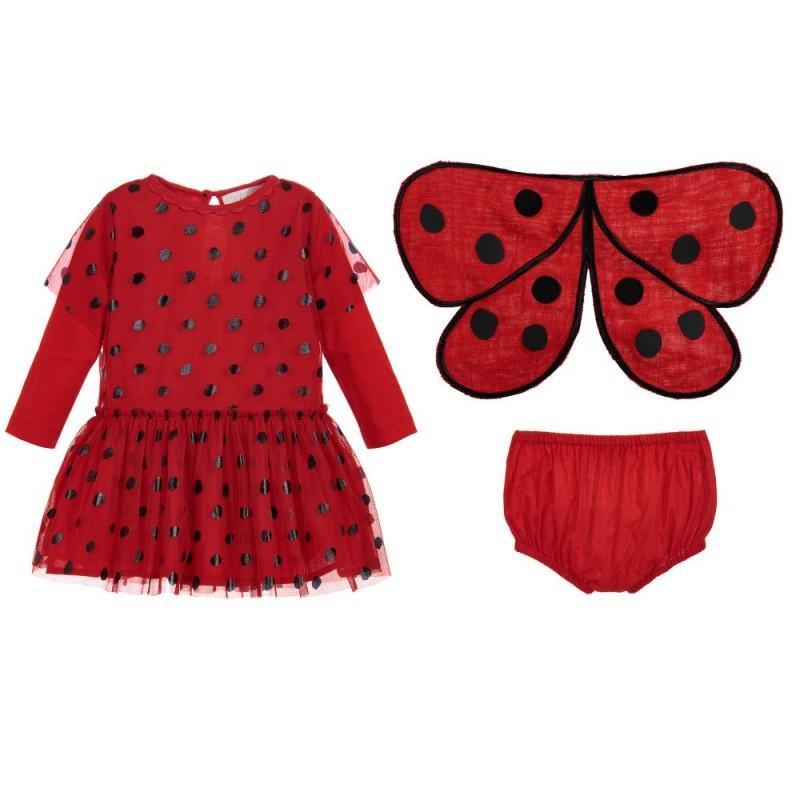 Βρεφικό Φόρεμα ''Ladybug''