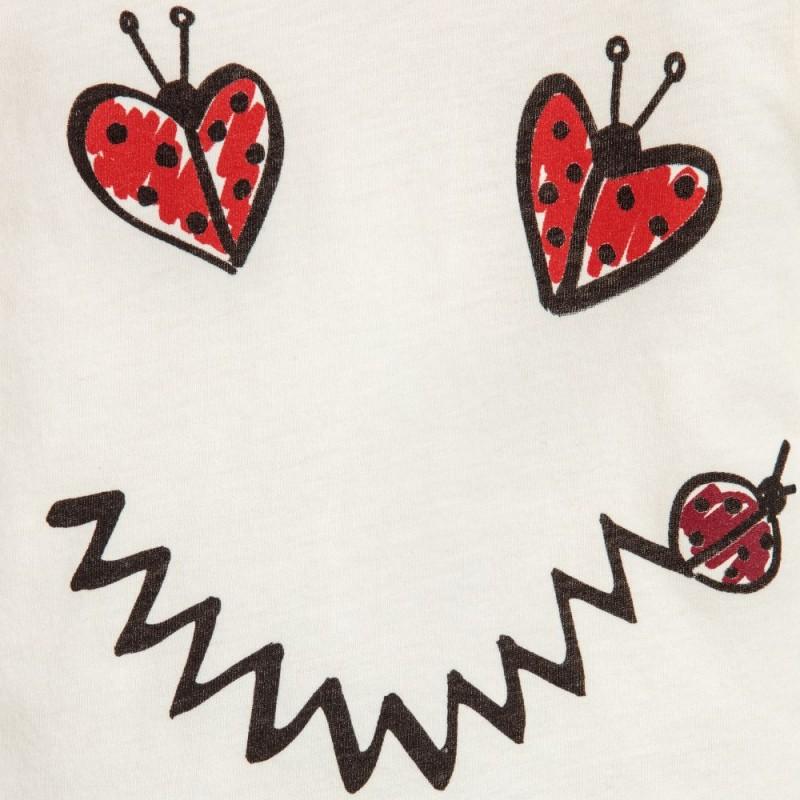 Βρεφική Μακρυμάνικη Μπλούζα Από Οργανικό Βαμβάκι