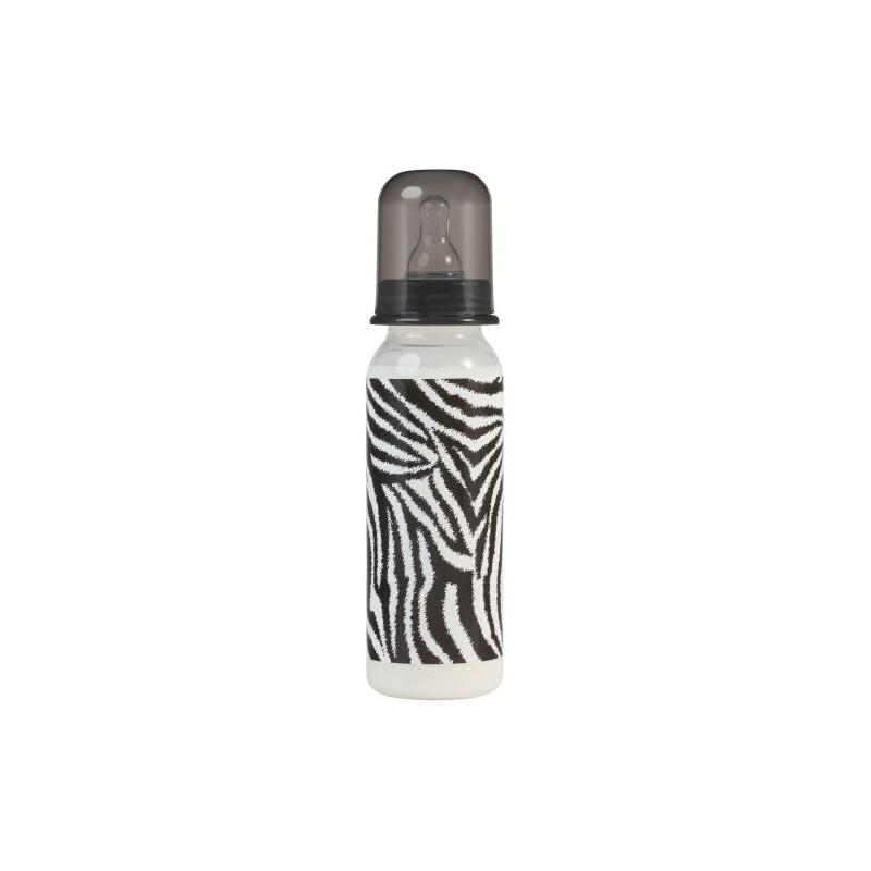 Βρεφικό Σετ Δώρου Με Μπιμπερό & Πιπίλες ''Zebra''