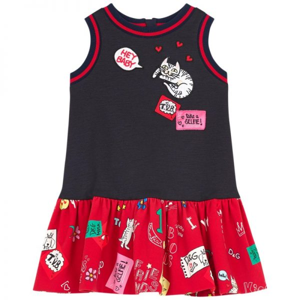 Παιδικό Αμάνικο Φόρεμα ''Love''
