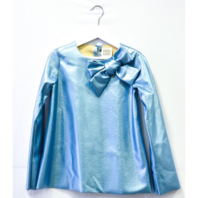 Παιδική Μπλούζα Από Οικολογικό Δέρμα