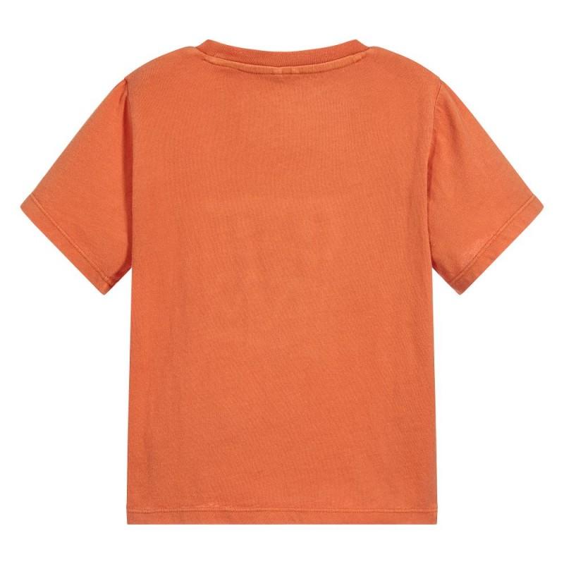 Βρεφική κοντομάνικη μπλούζα από οργανικό βαμβάκι