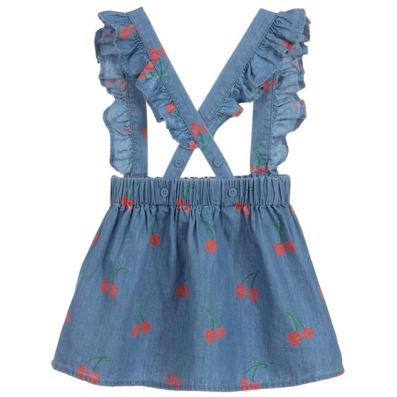 Βρεφικό τζιν φόρεμα ''Cherry''