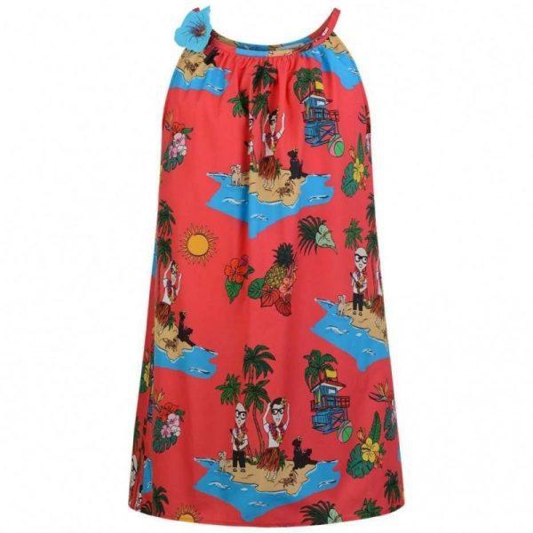 Παιδικό αμάνικο Hawaii φόρεμα