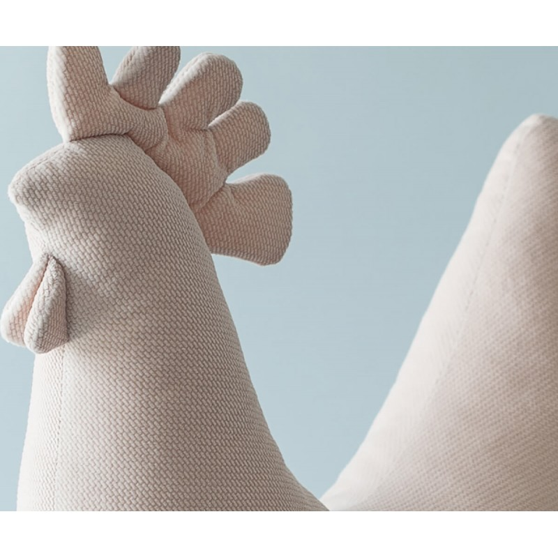 Μαξιλάρι θηλασμού ''Kura Velvet Powder Pink'