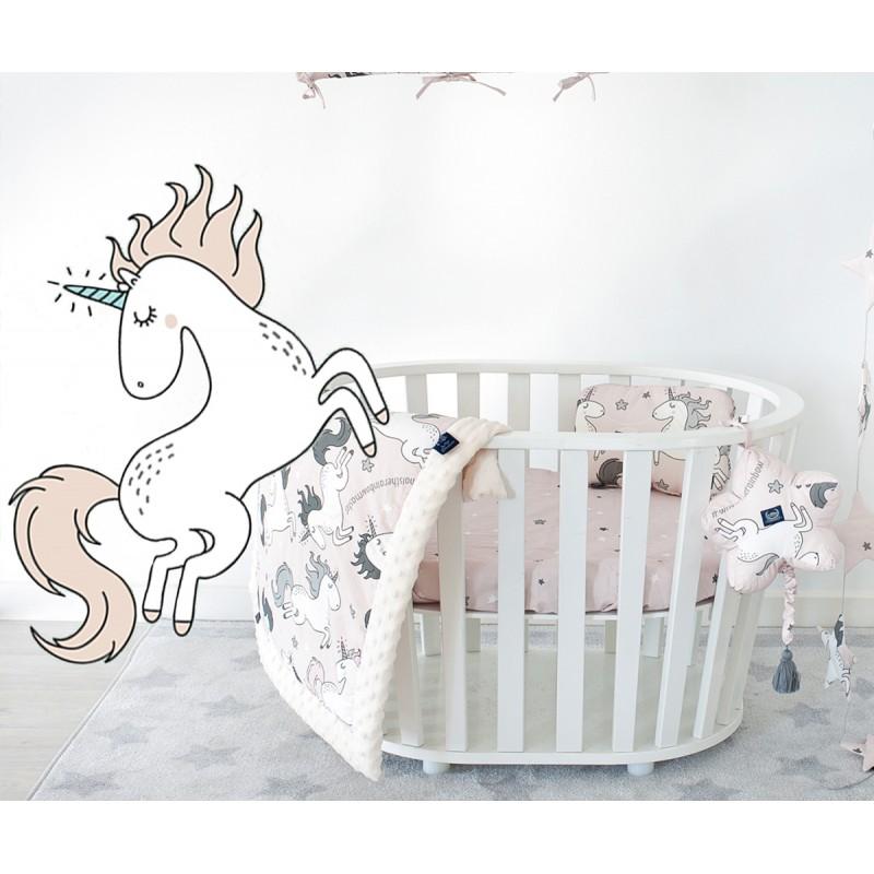 Βρεφικό προστατευτικό κούνιας ''Sugar Unicorn''