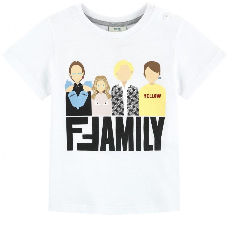 Βρεφική κοντομάνικη μπλούζα ''Family''