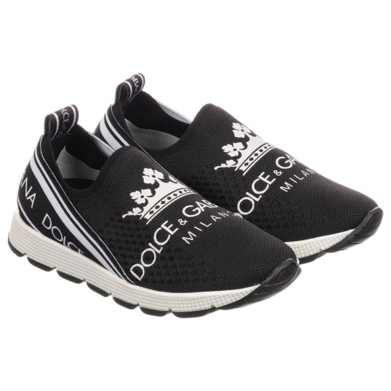 Παιδικό αθλητικό παπούτσι κάλτσα με logo