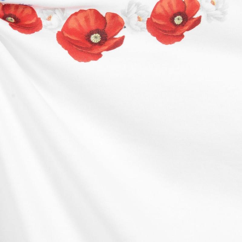 Βρεφική κοντομάνικη μπλούζα ''Poppy''