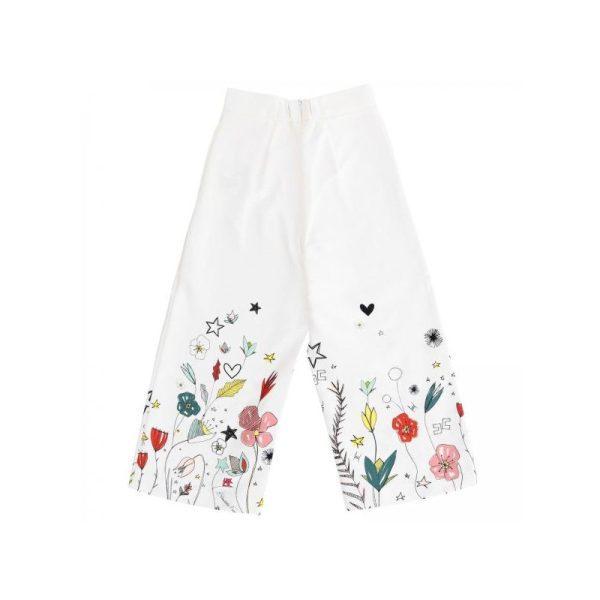 Παιδική παντελόνα με λουλούδια
