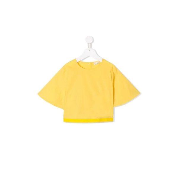 Παιδικό κίτρινο βαμβακερό τοπ