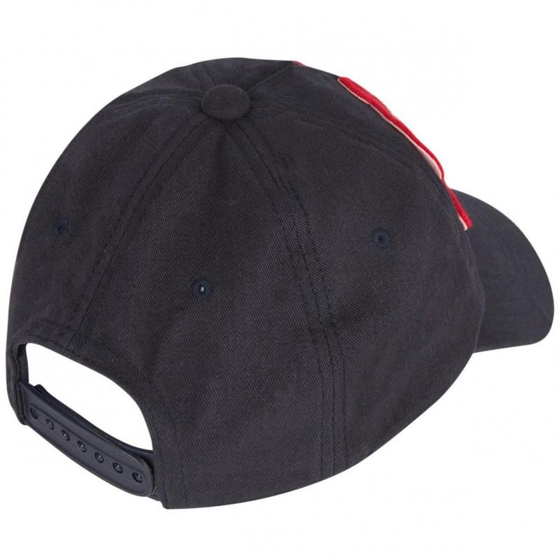 Παιδικό μαύρο καπέλο με logo