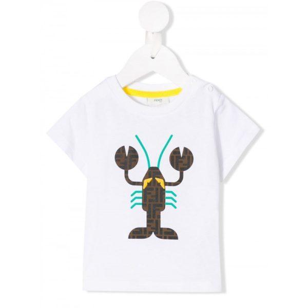Βρεφικό μακό μπλουζάκι με αστακό
