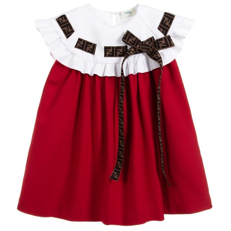 Παιδικό Φόρεμα Κόκκινο FENDI