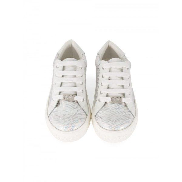Παιδικό Αθλητικό Παπούτσι Ασημί Για Κορίτσια MICHAEL KORS