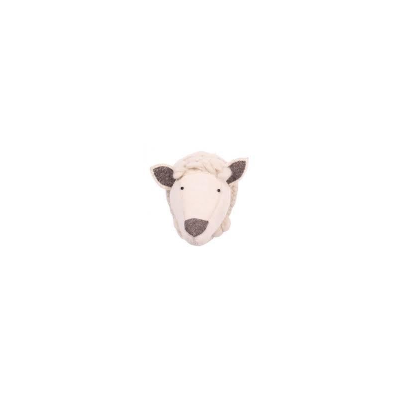 Κεφαλι προβατο λευκο KIDS DEPOT