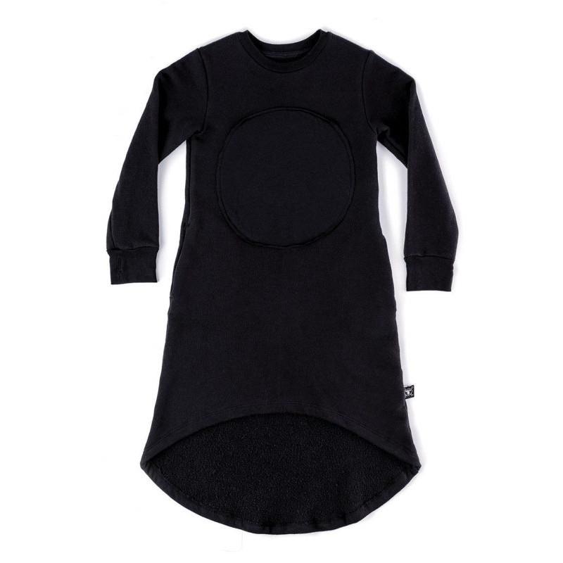 Παιδικο μαυρο φορεμα NUNUNU