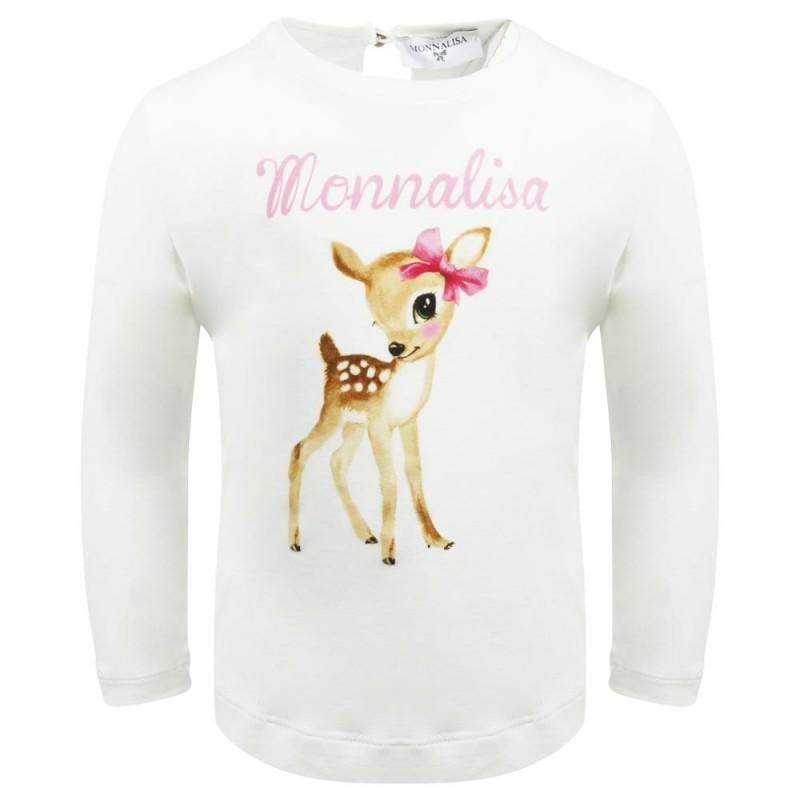 Βρεφικο μπλουζακι ελαφακι MONNALISA