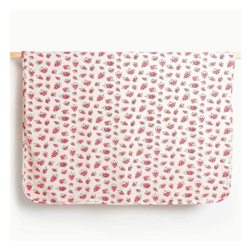 Βρεφικη κουβερτα φραουλες THE BONNIE MOB